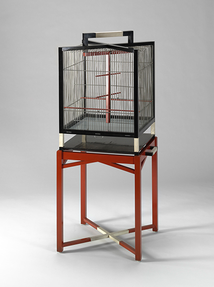 Pierre legrain  birdcage on stand  1922 23