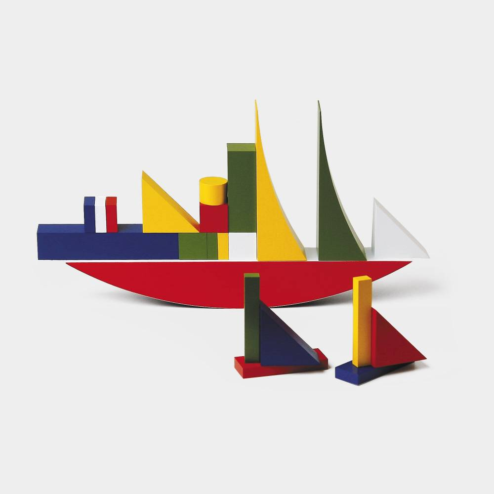 Alma Siedhoff-Buscher  , Bauhaus Children's Building Blocks