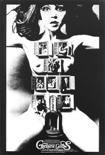 Andy Warhol, Film Poster for Chelsea Girls