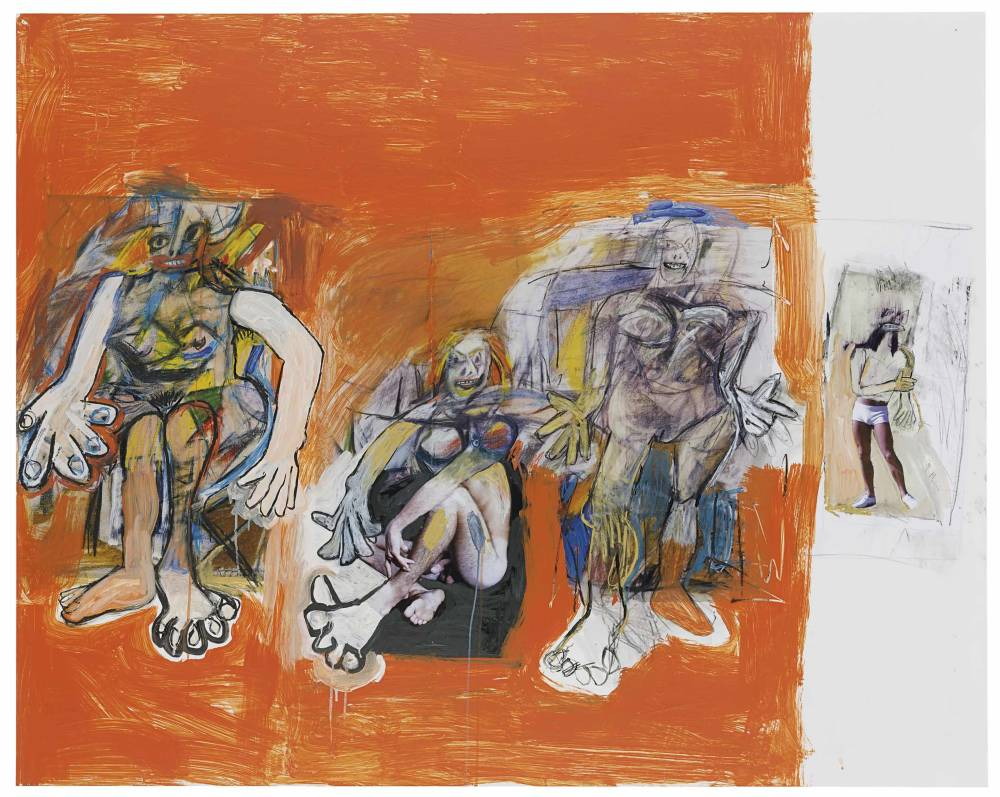 Richard Prince , Untitled (with de Kooning), 2006