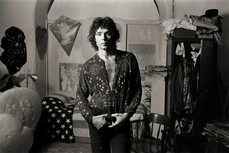 Norman Seeff, Portrait of Richard Bernstein at The Chelsea Hotel in New York, 1969