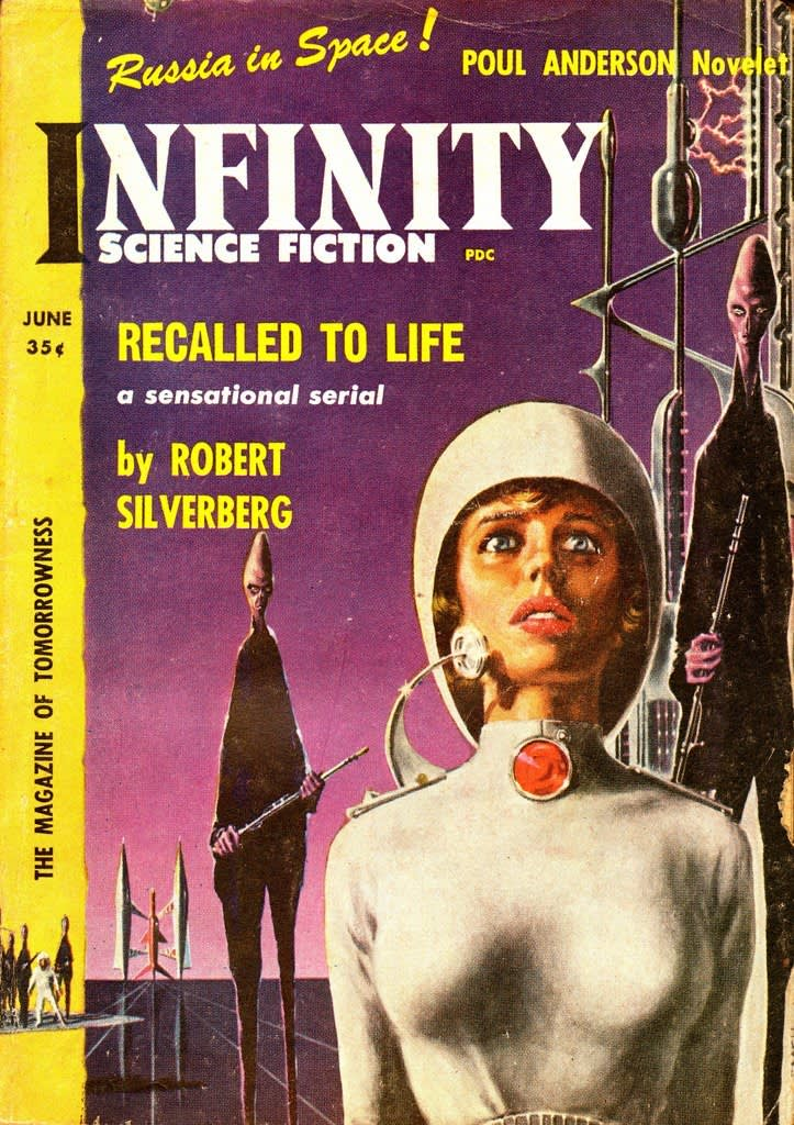 Infinity , Science Fiction Magazine, 1958