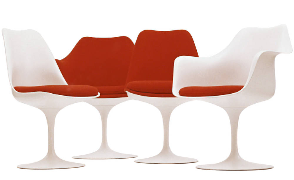Eero Saarinen , Knoll Tulip Side Chair, 1956