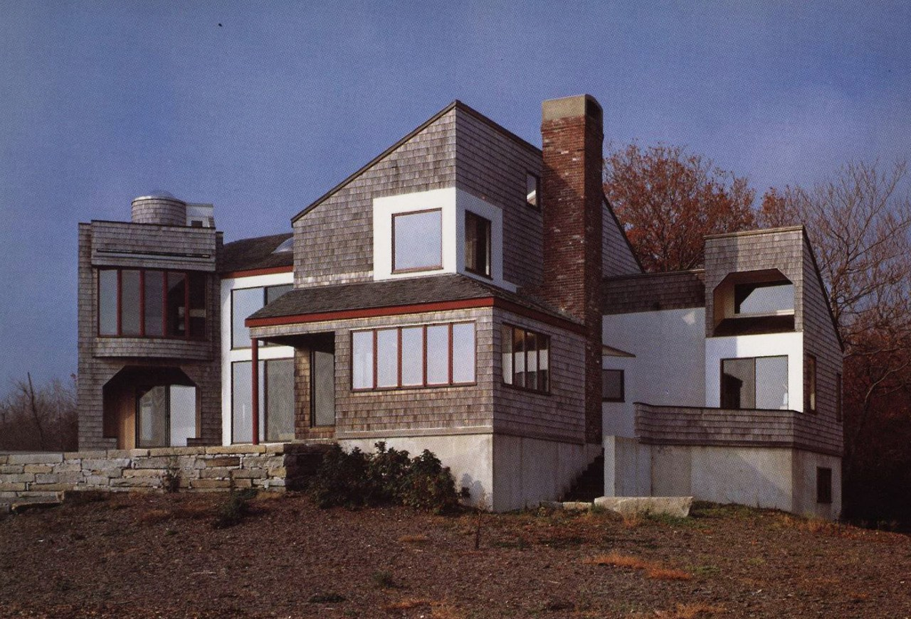 Donlyn lyndon  champy house  rye beach  new hampshire  1971 1979