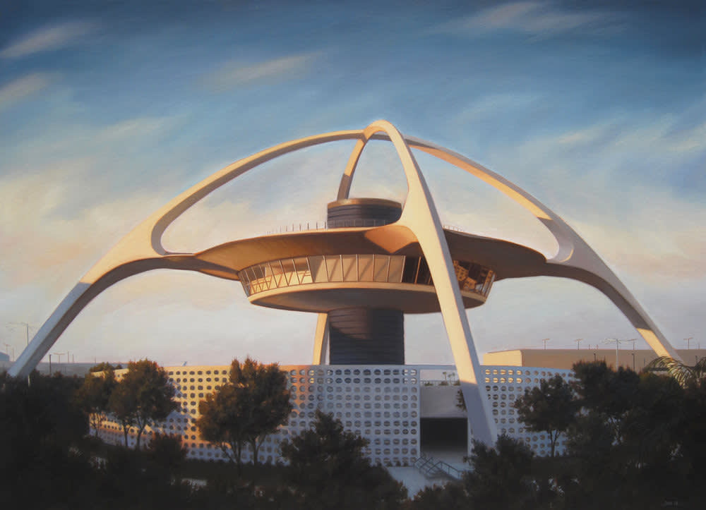 Theme Building , Los Angeles International Airport, 1961