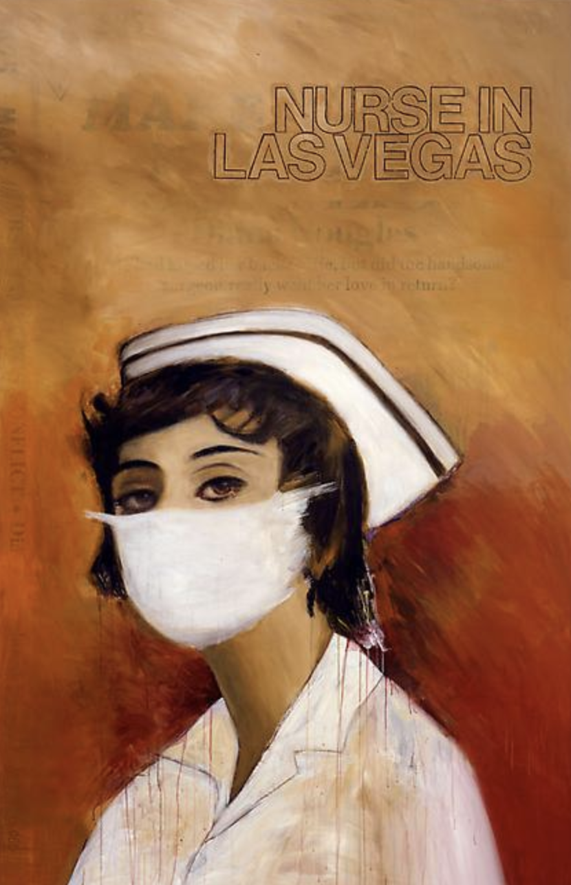 Richard Prince , Nurse in Las Vegas, 2008