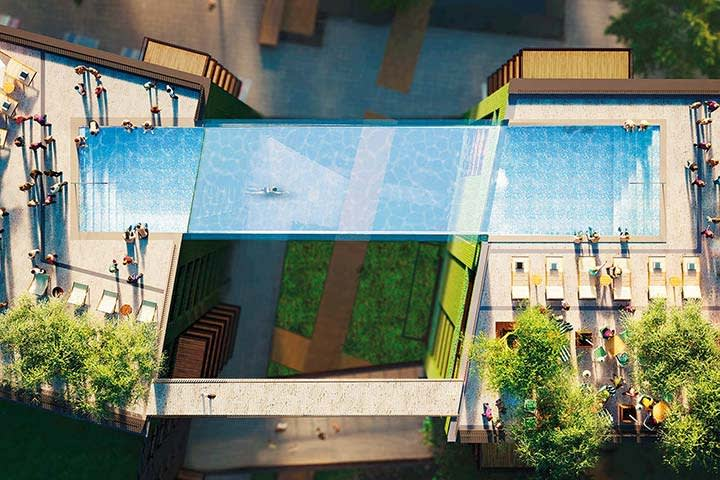 HAL Architects, Sky Pool