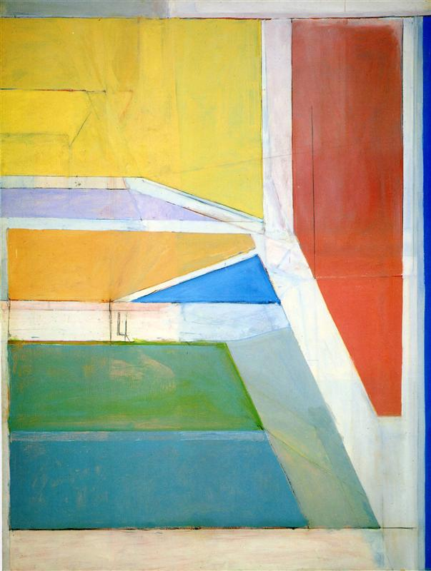 Richard diebenkorn  ocean park no. 27  1970