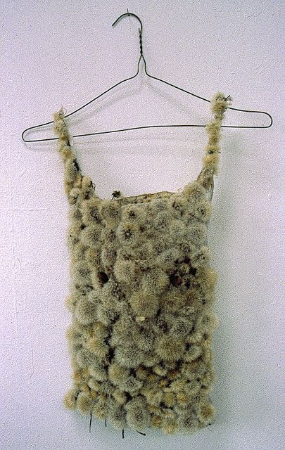 Louise richardson  dandelion thermal vest  1990