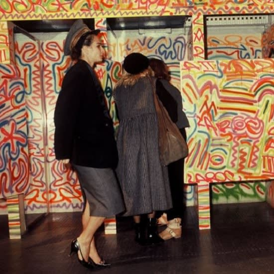 Fiorucci x Keith Haring, Store After Completion, Milan, 1983