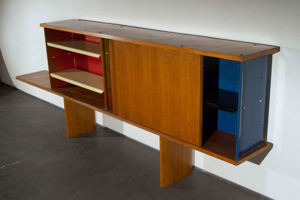 Charlotte Perriand and Jean Prouvé, Antony Bookcase, 1954