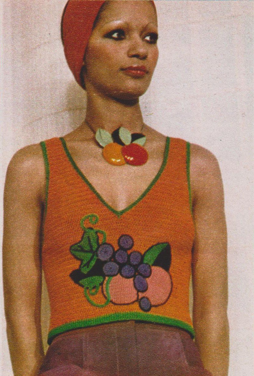 Emanuel ungaro marie claire  march 1972 photographed by peter knapp