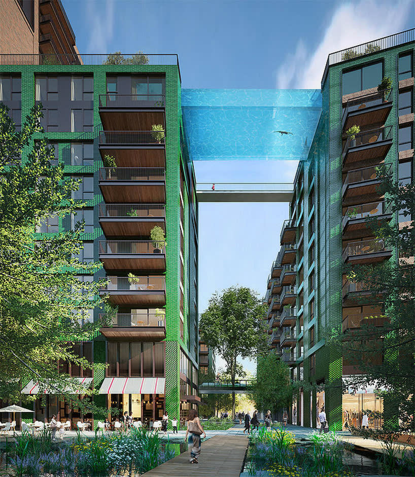 HAL Architects , Sky Pool
