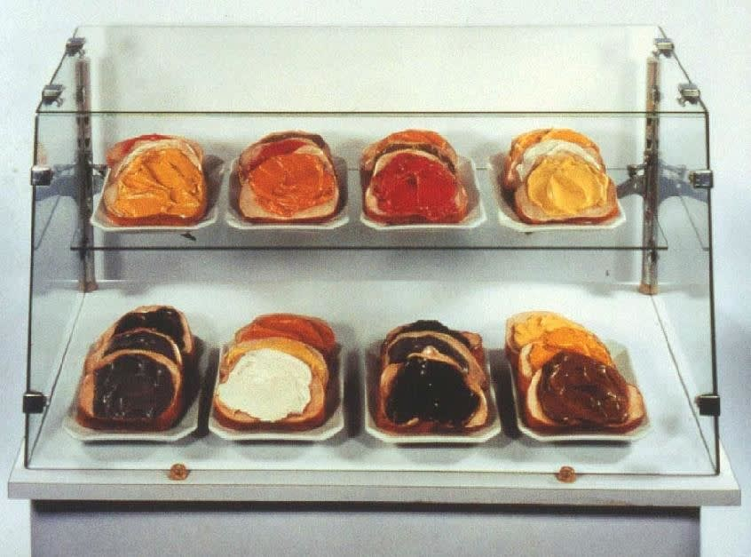 Claes Oldenburg, Tartines, 1964