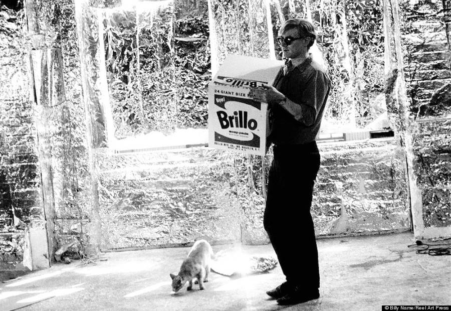Andy warhol at the silver factory  1964