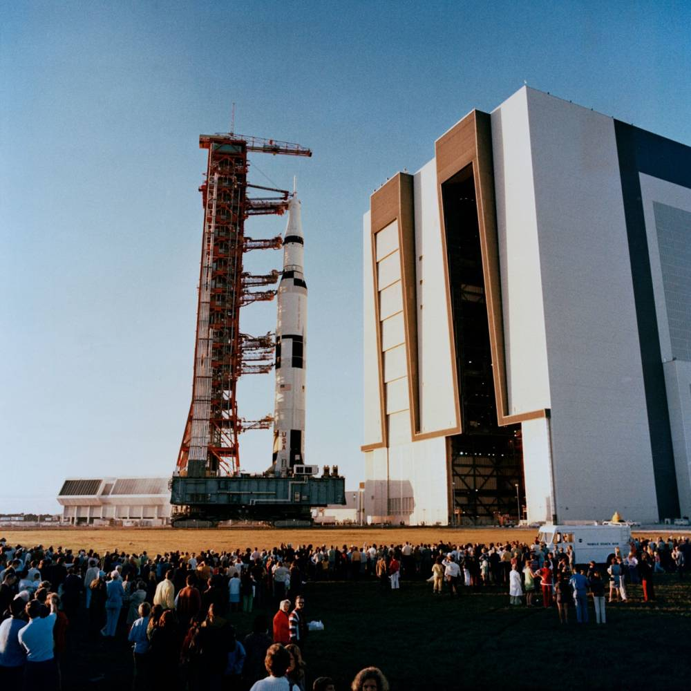 Morrison-Knudsen , The NASA Vehicle (originally Vertical) Assembly Building, 1966