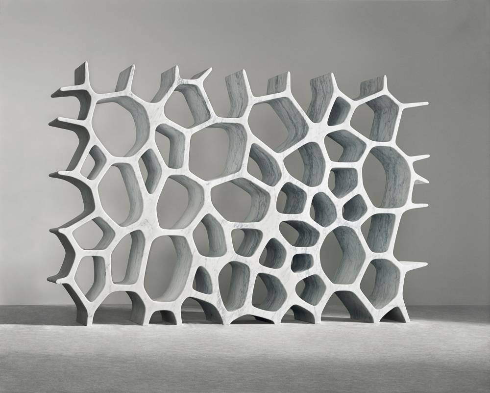 Voronoi shelf  marc newson  2007