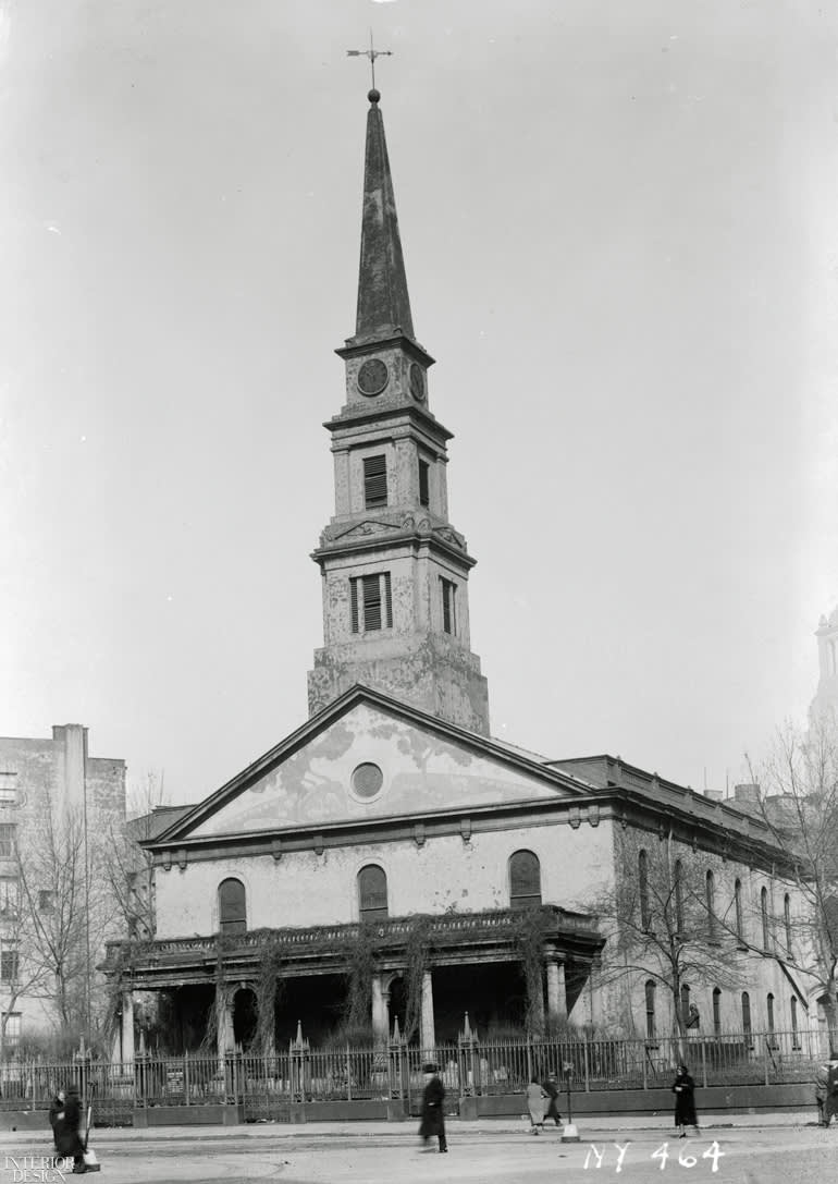 St. Mark's Church in-the-Bowery,  131 East 10th Street