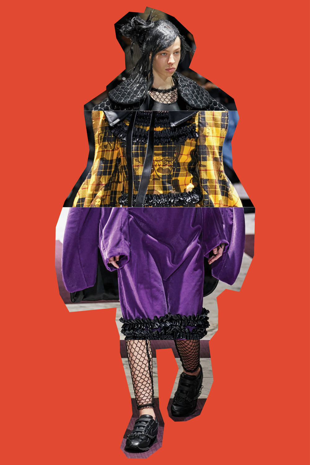 Comme des Garçons - Fall/Winter 2019, From Top: Look 3, Look 27, Look 20, Look 17