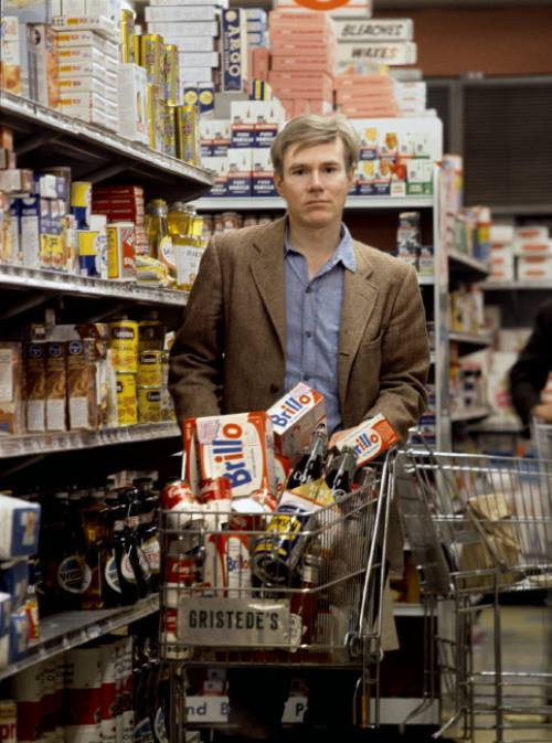 Andy warhol grocery shopping 1964
