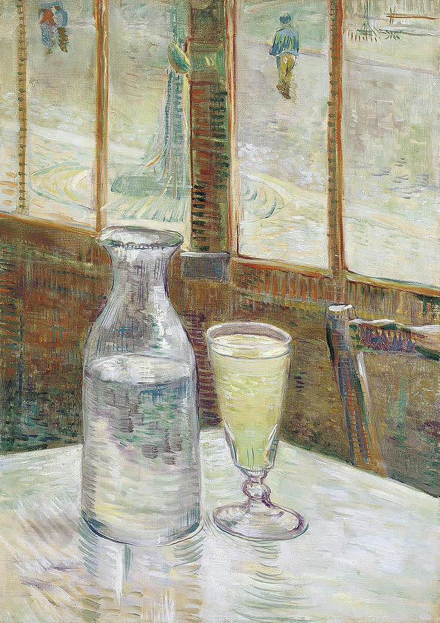 Vincent van Gogh, Café Table with Absinthe, 1887