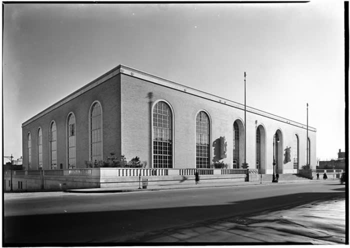 Bronx General Post Office, 1930s