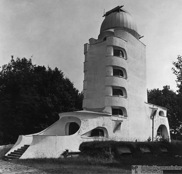 Erich mendelsohn  einstein tower in potsdam  built 1920 21