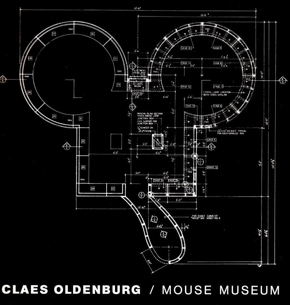 Claes Oldenburg , Rendering, Mouse Museum