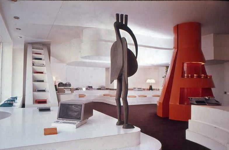 Gae Aulenti, Olivetti Showroom, Paris, 1966
