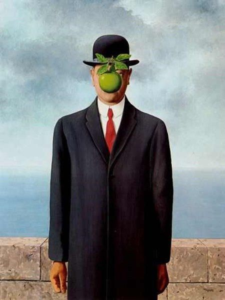Rene magritte  the son of man  1964