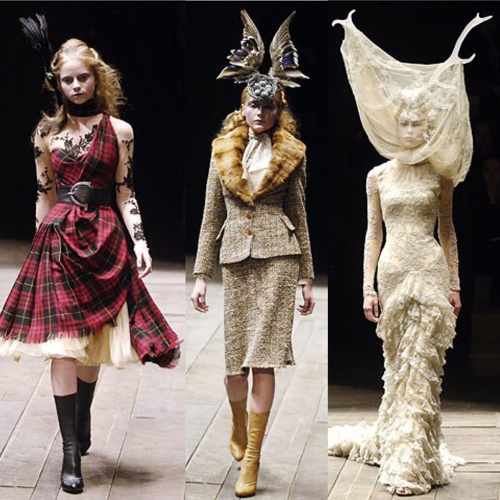 Mcqueen fw 2006   three collection images