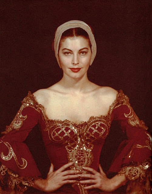 Man ray  ava gardner in costume for albert lewin   s    pandora and the flying dutchman     hollywood  1950