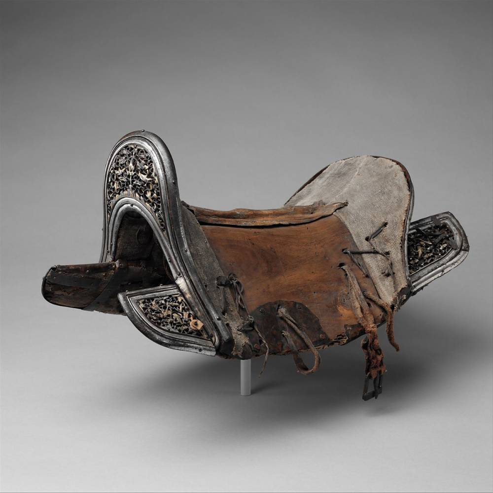Saddle , Eastern Tibetan or Chinese, 17th-18th Century