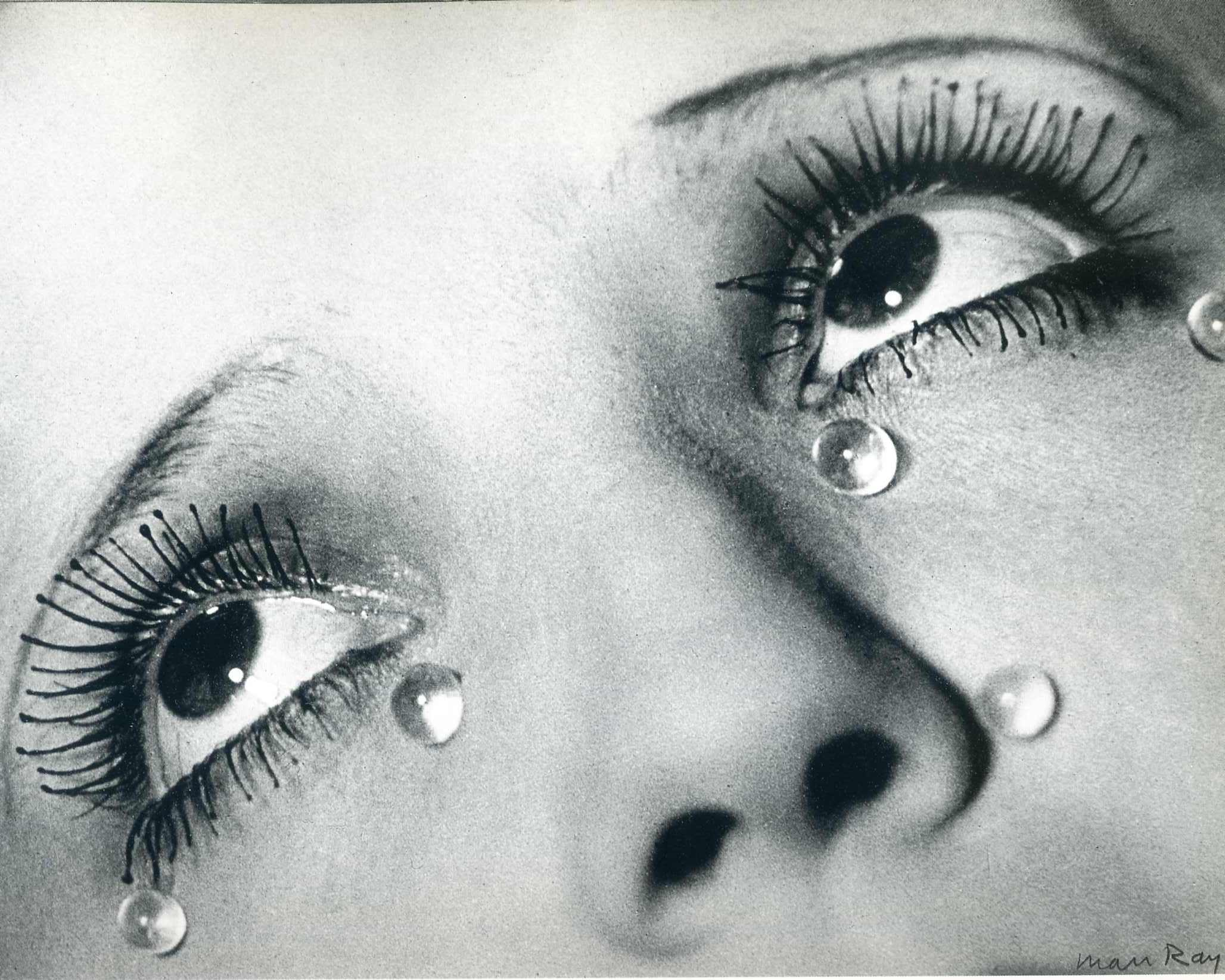 Glass tears  1932   man ray