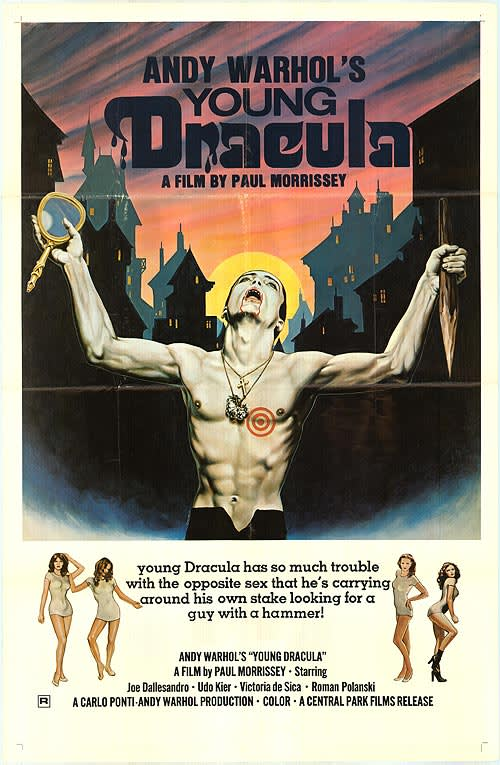 Andy Warhol, Film Poster for Young Dracula
