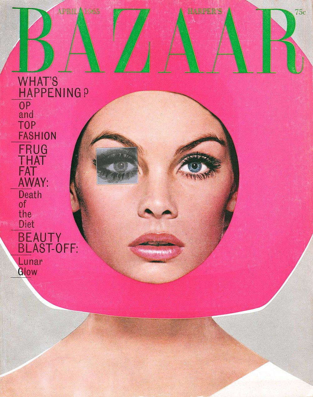 Richard avedon  harper s bazaar  april 1965