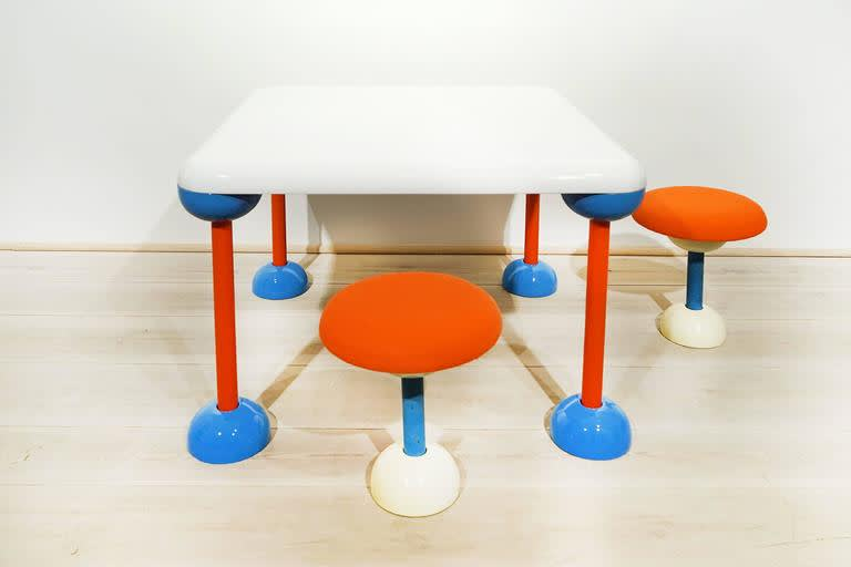 Ettore Sottsass , Micky Mouse Table, 1971