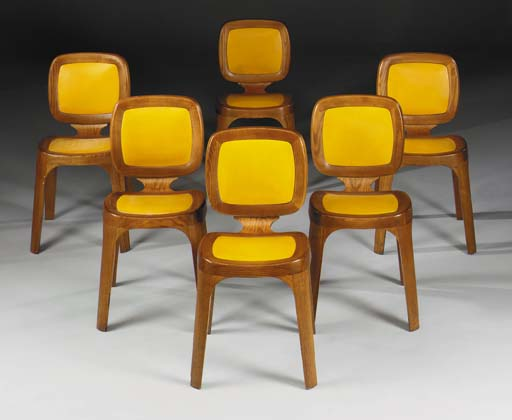 Marc newson  coast dining chairs  1992