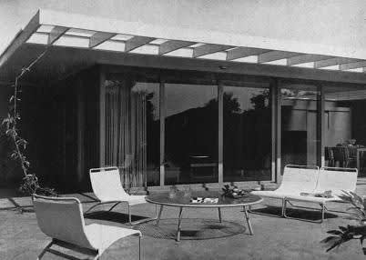 Thornton M. Abell , Case Study House No. 7, 1948