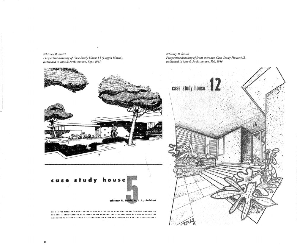 Whitney R. Smith, Case Study House No. 5, 1945-46