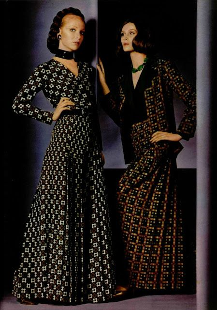 Yves saint laurent collection spring summer 1970