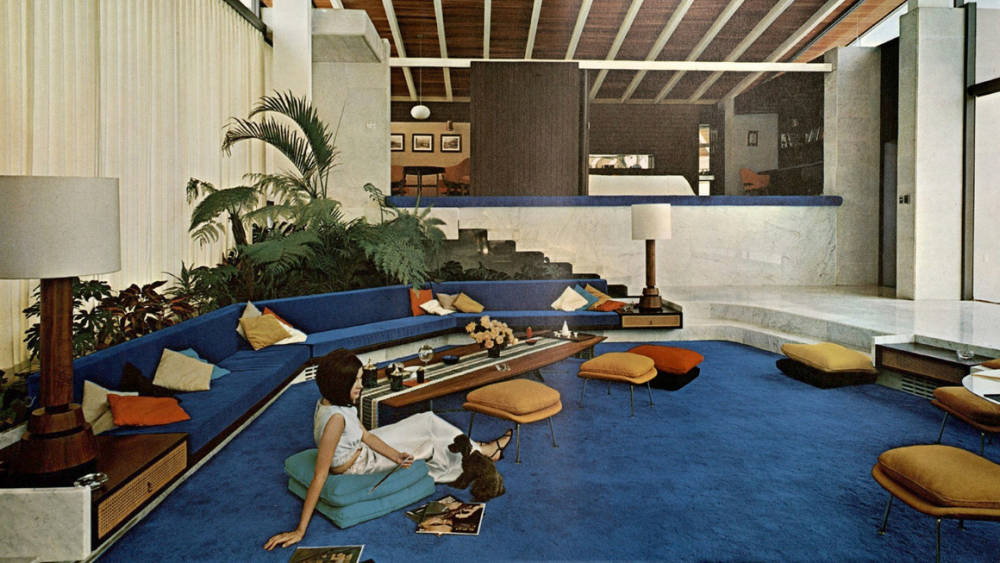 Artigas  luis echeverri  a house  gardens of el pedregal  mexico city  1955  remodeled 1969.