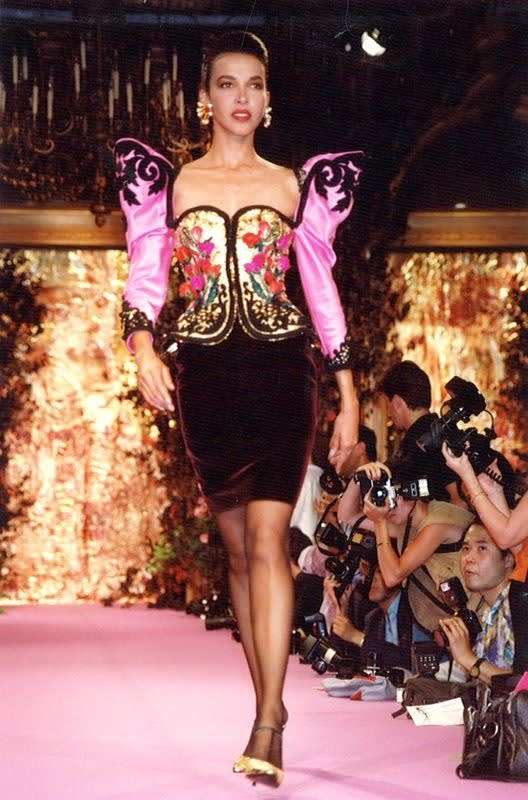 Christian lacroix  fall winter 1989 haute couture
