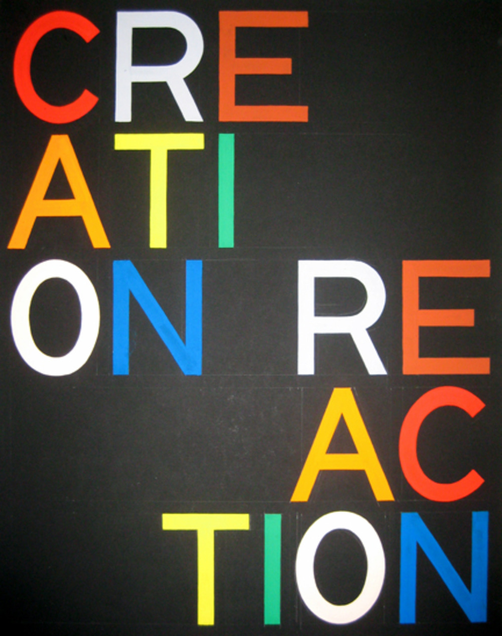 Tauba auerbach  creation reaction  2008