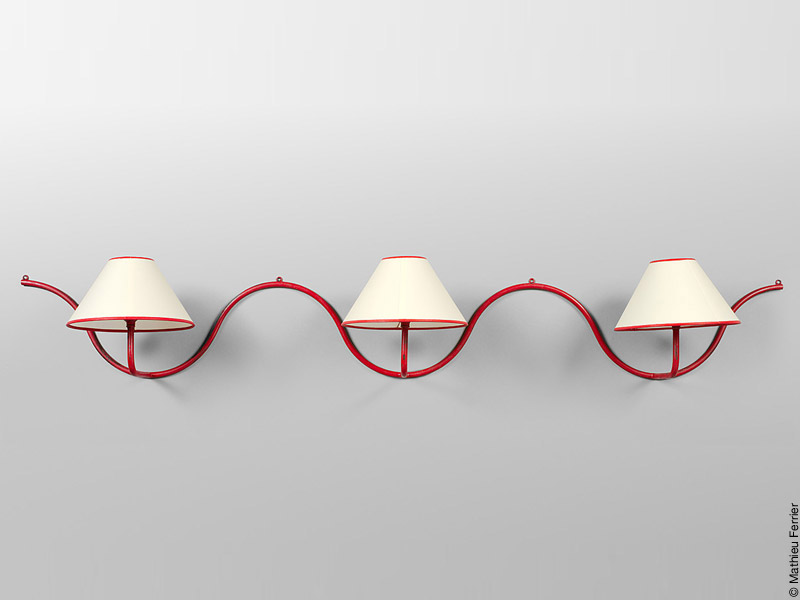 Ondulation wall lamp1