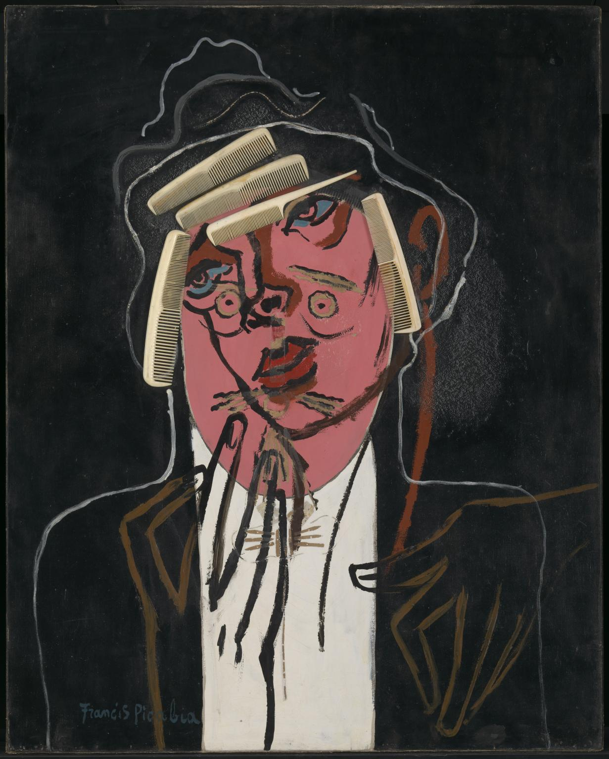 Francis picabia  the handsome pork butcher  1924 26