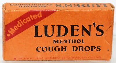 Luden's , Cough Drops, Early Packaging