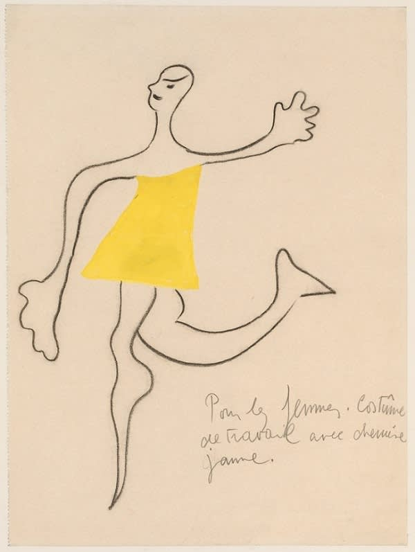 Joan Miró, Costume Design for Romeo and Juliet, 1926