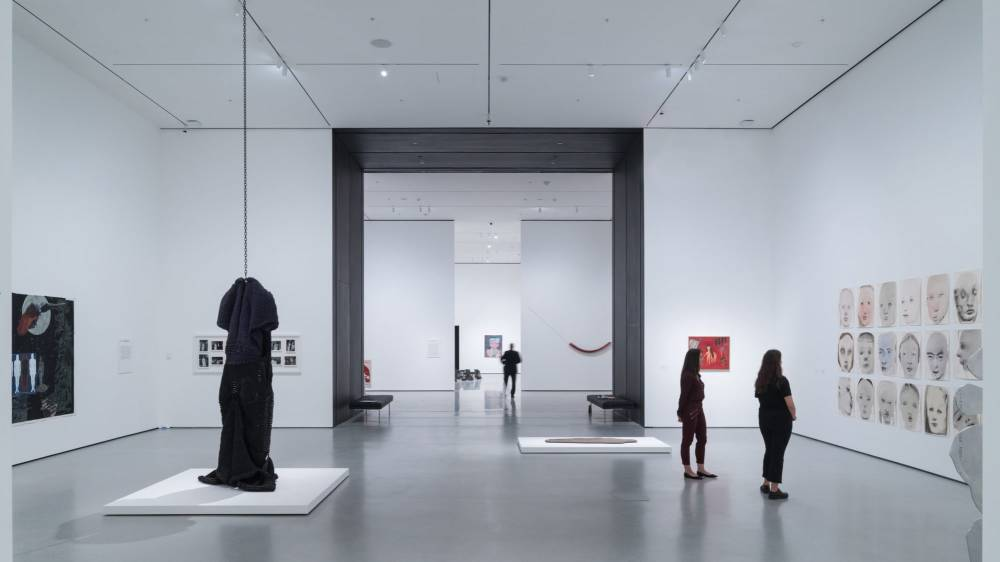 MoMA, Installation View of David Geffen Wing Gallery