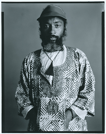 David hammons photographed on september 2  1980  in new york city
